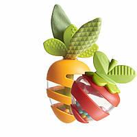 """Tiny Love - Набор прорезывателей-погремушек """"Морковка и клубничка"""", фото 1"""