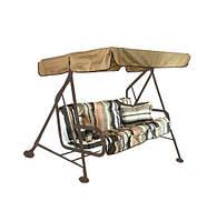 Качели Бари + подушки 228х121х144,5 см