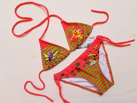 Купальник детский SAME GAME 33950 Глория розовый (есть размеры 28 30 32 34 36), фото 2
