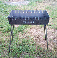 Розкладний мангал валізу на 12 шампурів 2мм, Сівши, фото 1