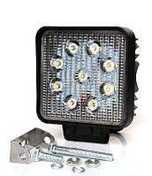 Противотуманки LED, фара LED, рабочий свет, дополнительный свет, 4 дюйма, 27 Вт, 900лм, 12-32В