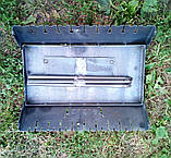 Раскладной мангал чемодан на 10 шампуров 2мм, Сев, фото 2