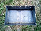 Раскладной мангал чемодан на 10 шампуров 2мм, Сев, фото 4