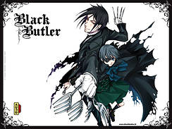 Тёмный дворецкий Black Butler