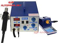 WEP 872D+ HAKKO. Сварочный аппарат (паяльная станция) 2/1 WEP 872D+ для сварки и пайки пластика пластмасс