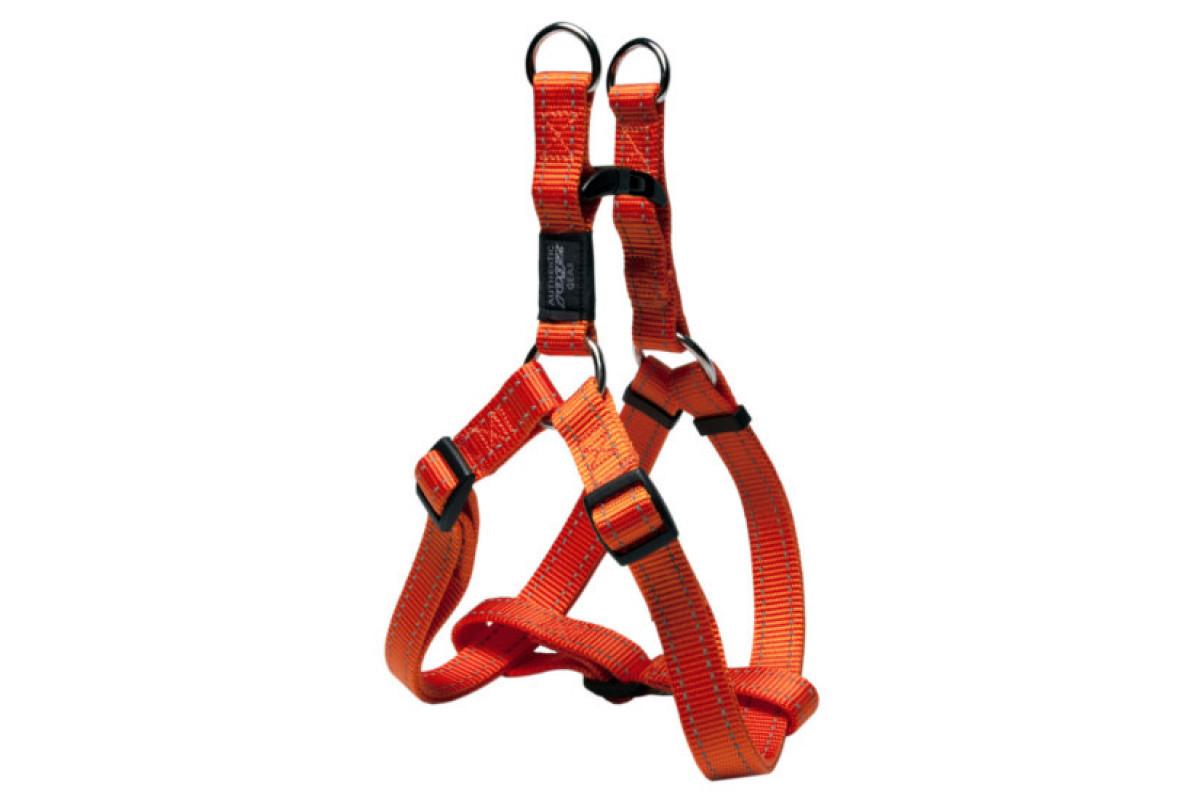 ROGZ (РОГЗ) UTILITY STEP-IN ORANGE  Розмір S, 27-38 см. - нейлонова шлея для собак