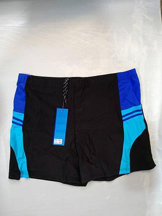Шорты-плавки мужские SAME GAME 7585 черный (есть 48 50 52 54 56 размеры), фото 2