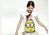 Модная детская футболка Минйон 110\116 рост