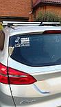 Наклейка знак на машину авто стекло 70 км (ограничительный знак) с авто, фото 5