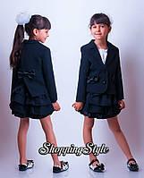 Костюм пиджак фрак+юбка, фото 1