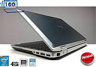 "Ноутбук Dell Latitude E6520 15.6"" IntelCORE i5/4GB/SSD120GB Отличное состояние с Гарантией"