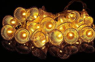 Led лампы на елку 20шт. 4,5м