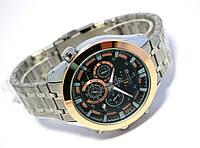 Мужские часы в стиле CASIO Edifice - RedBull, cuprum
