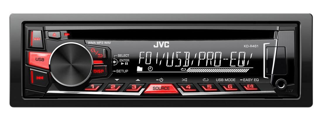 Автомагнитола JVC KD-R461