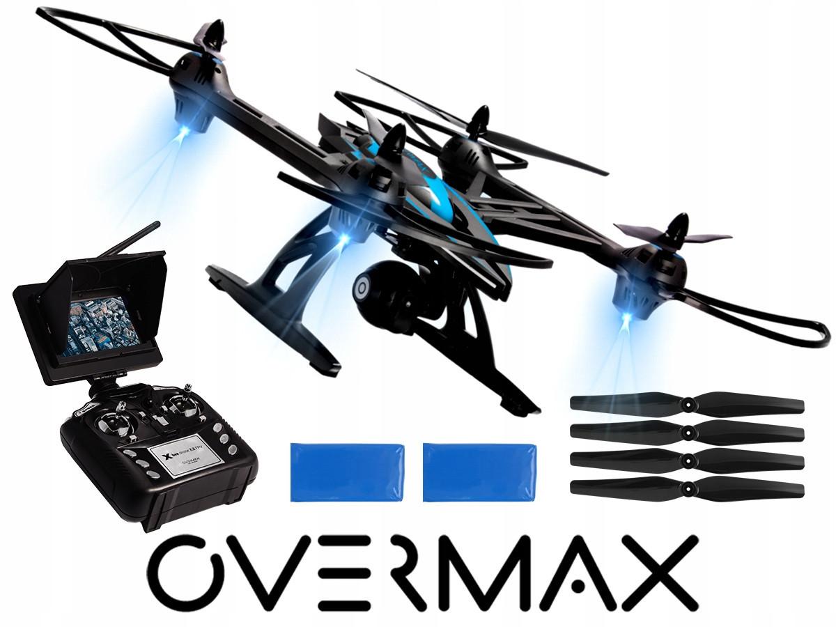 Беспилотник дрон OVERMAX X Bee 7.2 FPV + камера HD