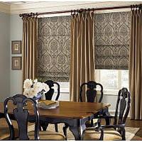 Римская штора как элемент декора окна