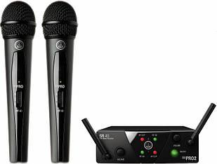 Беспроводная вокальная радиосистема AKG WMS 40 MINI 2 DUAL VOCAL