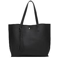 Большая женская сумка zarka shopper WS1008 экокожа