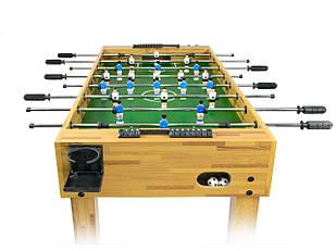 Большой деревянный футбольный стол