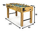 Большой деревянный футбольный стол, фото 2