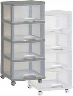 Большой комод-шкаф с выдвижными ящиками 4х20л