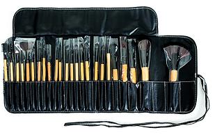 Большой комплект для макияжа 24 шт + чехол
