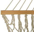Большой плетённый гамак 270х80 см, фото 2