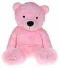 Большой плюшевый медведь 130 см Розовый, фото 2