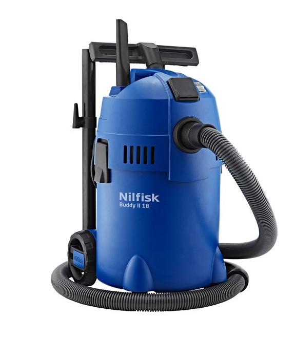 Бытовой пылесос для строительной пыли Nilfisk buddy II 18T 1200W