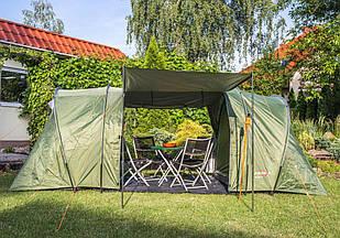Германская палатка 4 местная Tropik 3000 MM 2 спальни + тамбур