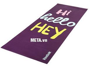 Гимнастический коврик Hello Hi Reebok Fitness