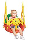 Детские качели подвесные  3 в 1, с 6 месяцев до 7 лет, фото 3