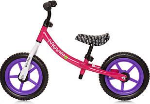 Детский беговой велосипед Movino Classic для девочек