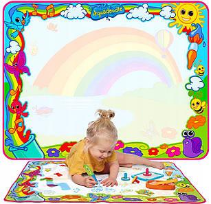 Детский водный коврик для рисования AQUADOODLE SUPER RAINBOW T72772
