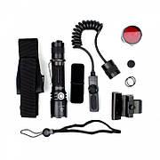 Тактический набор Fenix (фонарь TK20R + тактическая кнопка + крепление на оружие + красный фильтр + аккумулятор и з/у)