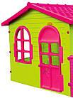 Детский игровой домик  Mochtoy розовая крыша, фото 2