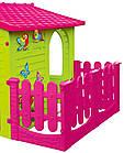 Детский игровой домик  Mochtoy розовая крыша, фото 3
