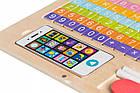 Детский развивающий деревянный ноутбук Ecotoys, фото 8