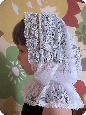 Нарядний  платок для церкви,, фото 2