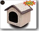 Домик для собаки R4  60x55x60см HOBBYDOG, фото 2