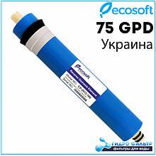 Мембрана Ecosoft 75GPD для фільтра зворотного осмосу