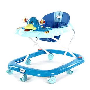 Интерактивные ходунки для детей BabyStar Уточка