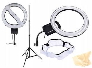 Кольцевая лампа RING NG-65C с рассеивателем марки NanGuang + штатив высотой до 230 см