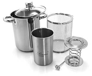 Кухонный набор Ronner - Кастрюля+Ветченица+Термометр+Сито