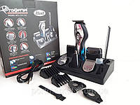 Аккумуляторная машинка для стрижки волос 11 в 1 Gemei GM-562, фото 1