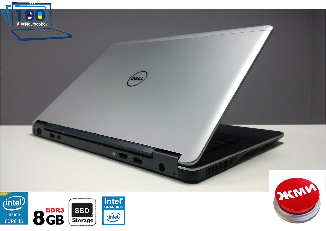 "Ноутбук (Ультрабук) БУ Dell Latitude E7440 14"" IntelCORE i5/8GB/SSD120GB"