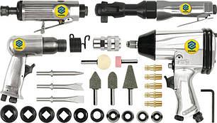 Набор пневматических инструментов с аксессуарами Vorel