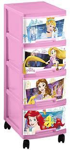 Органайзер для игрушек Princess 40 л Curver