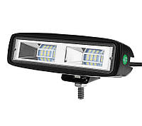 Фара LED 27 Вт, flood beam (Ближний свет), 12-32 В, 5000К 2500 Лм