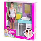 Кукла Барби Кен в ванной комнате - Barbie Ken Shaving & Bathroom, фото 6